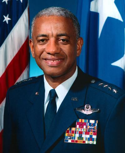 """Retired Air Force Gen. Lloyd W. """"Fig"""" Newton"""