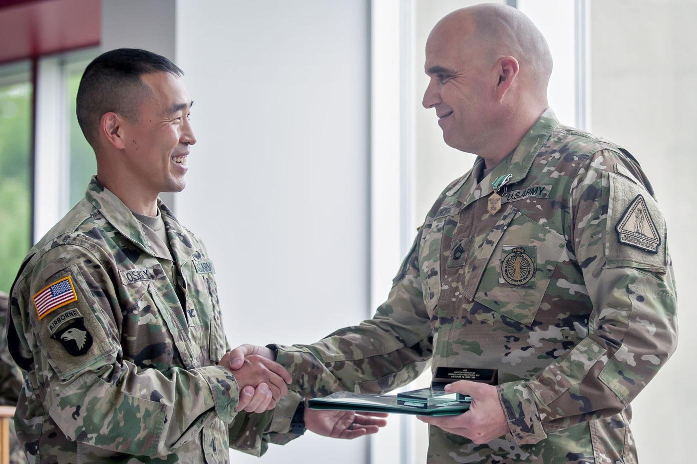 Kentucky Army National Guardsman wins prestigious award