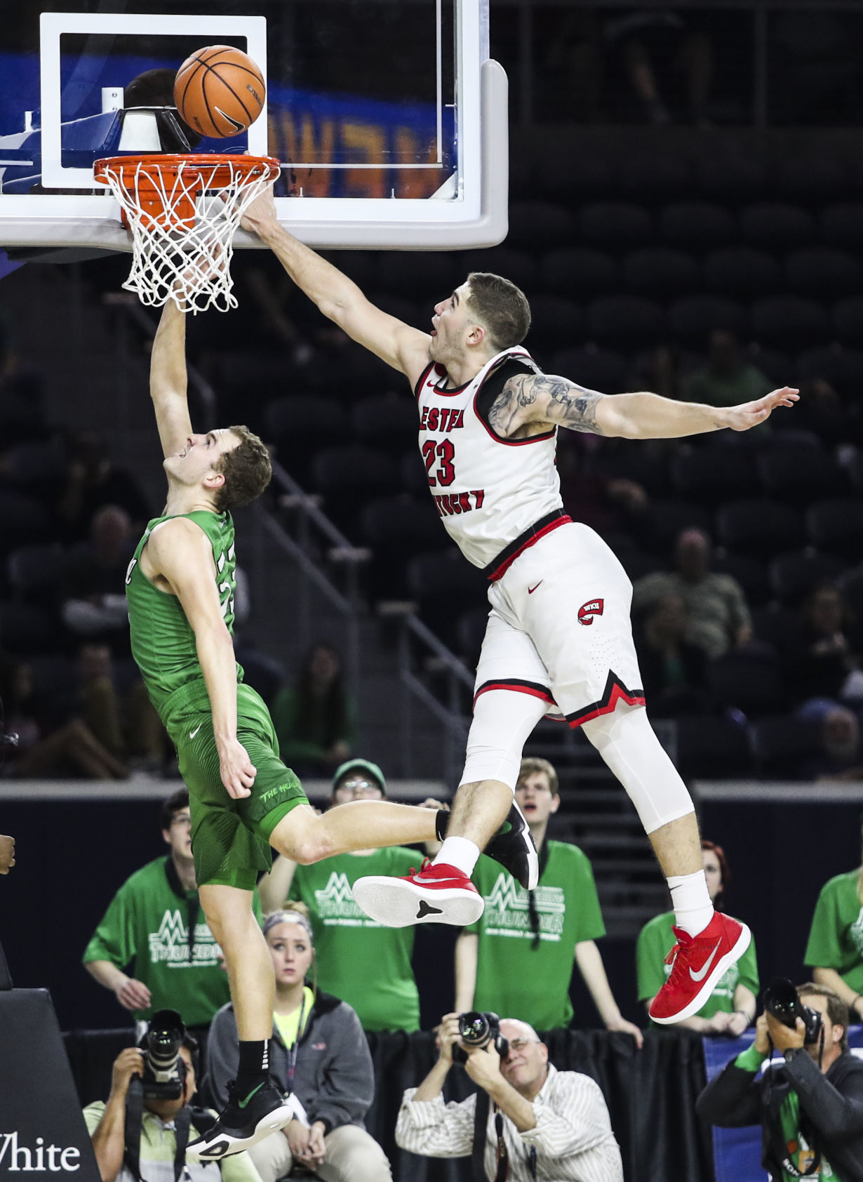 WKU loses 67-66 to Marshall in Conference USA Championship