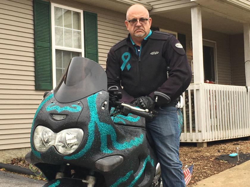Bowling Green Man Plans Motorcycle Trek To Raise Ovarian Cancer Awareness Bgdailynews Com