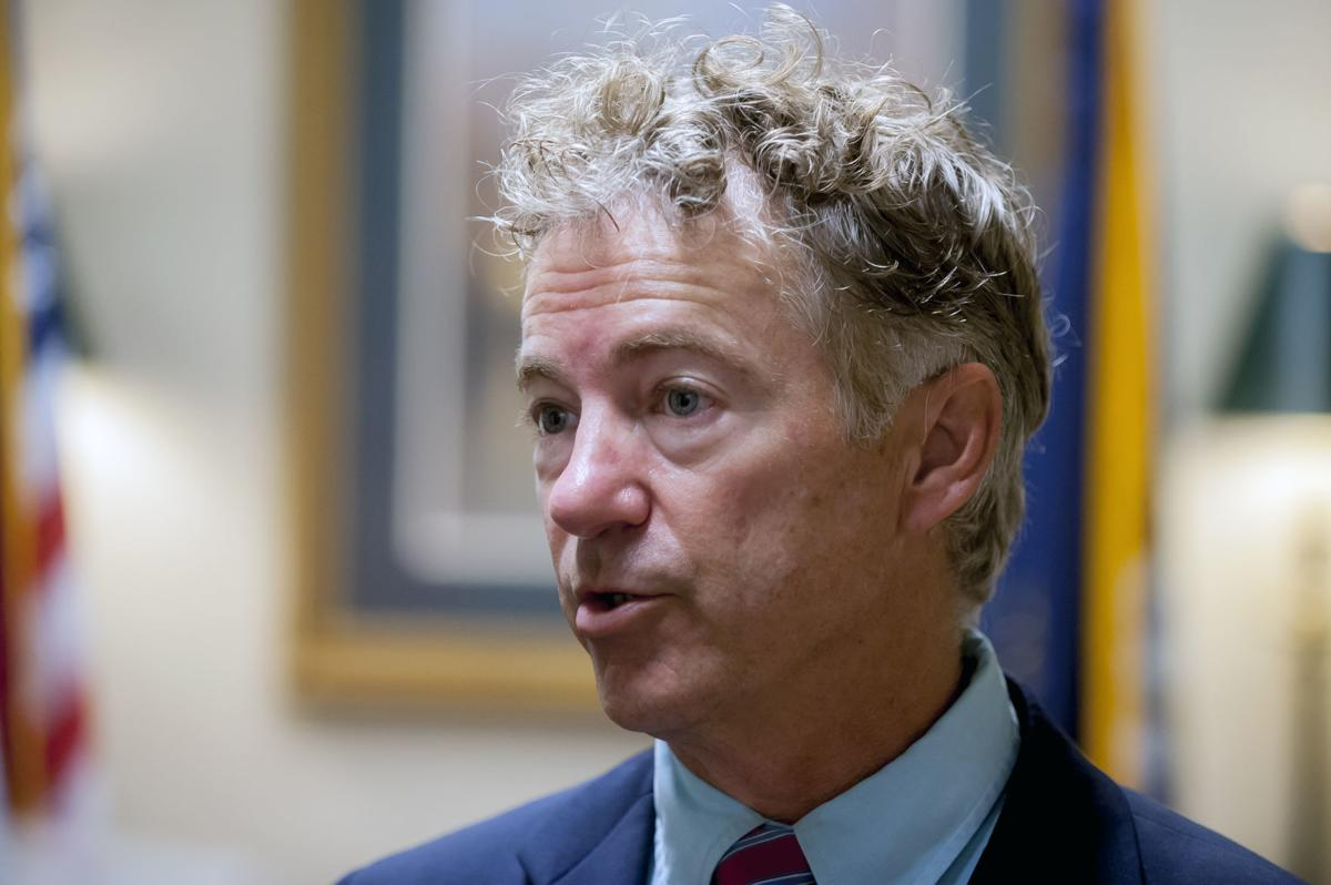 Sen. Paul honors fallen soldier with flag presentation