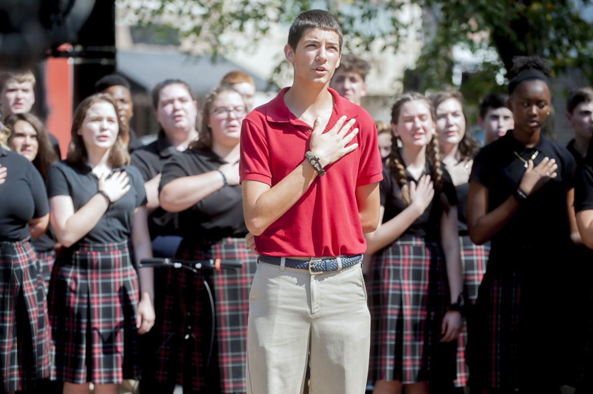 Anchored Christian students honor 9/11 victims and first responders