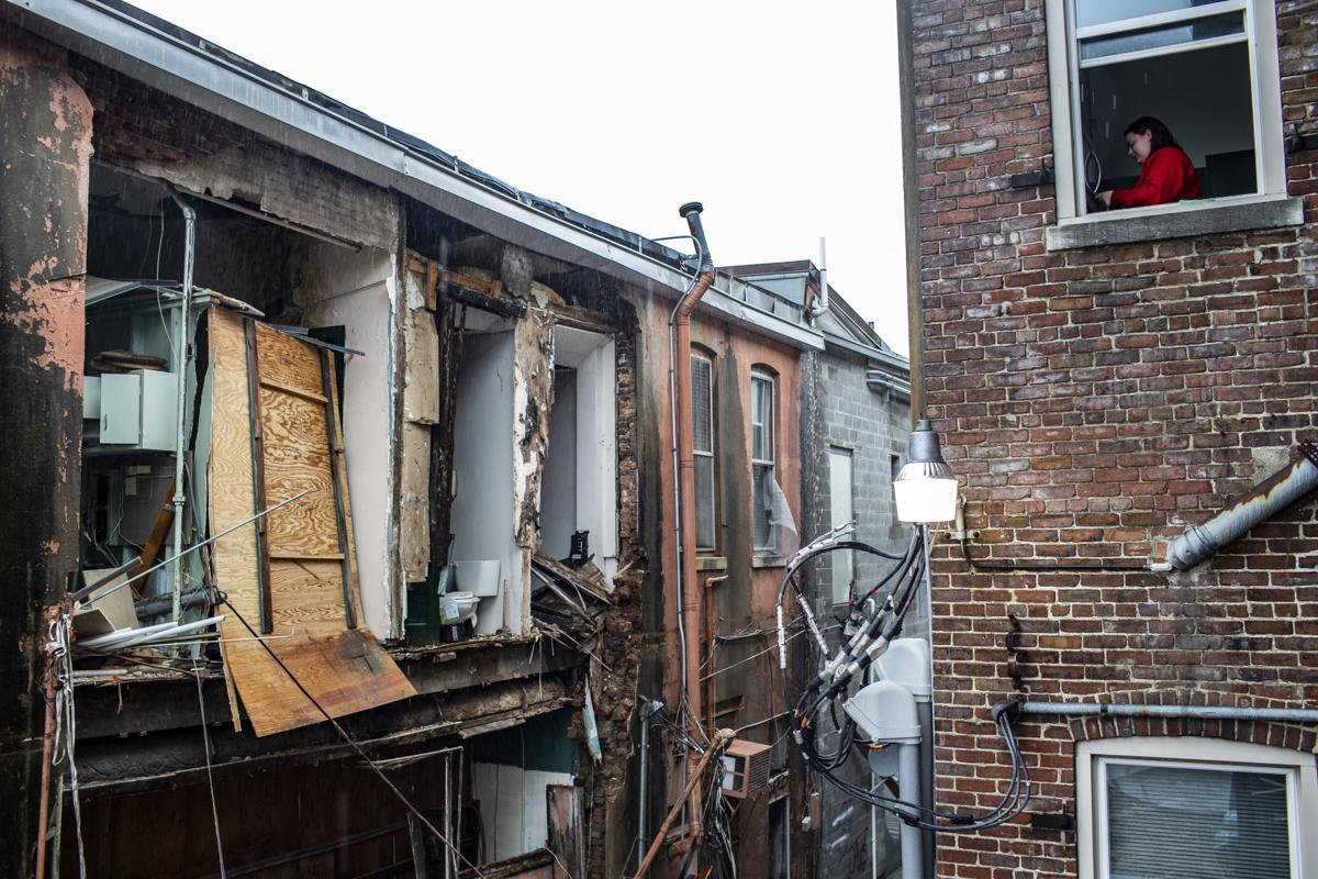 Wall Collapses At Downtown Building News Bgdailynewscom