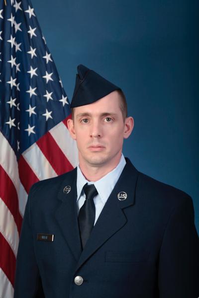 Christopher graduates from basic military training