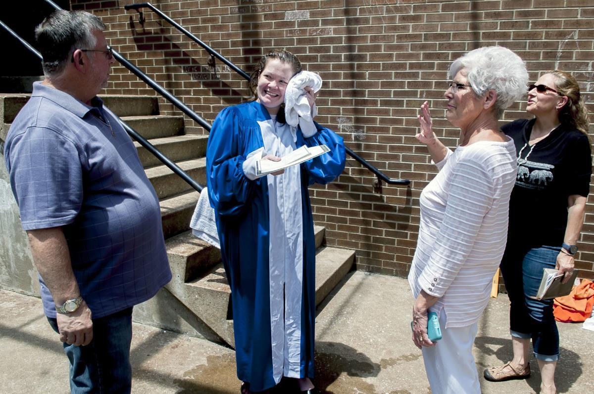 WCRJ hosts first baptism for female inmate | News | bgdailynews com