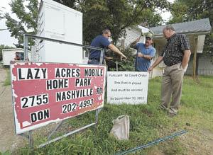 Lazy Acres Mobile Home Park to be empty by year's end | News ...