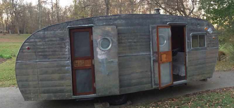 Alvaton man finishes restoring camper in memory of his daughter