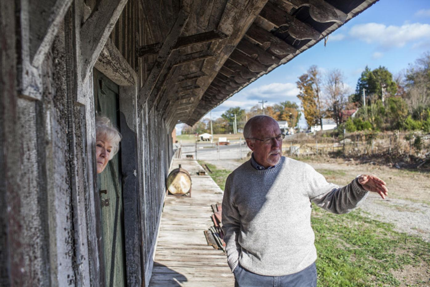 Historical society working to restore Scottsville's L&N Depot