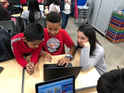 Jennings Creek students show off their coding skills