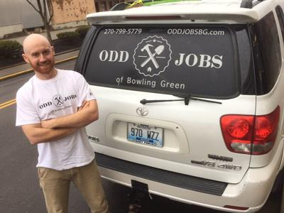 Odd man in: James builds handyman work into thriving business