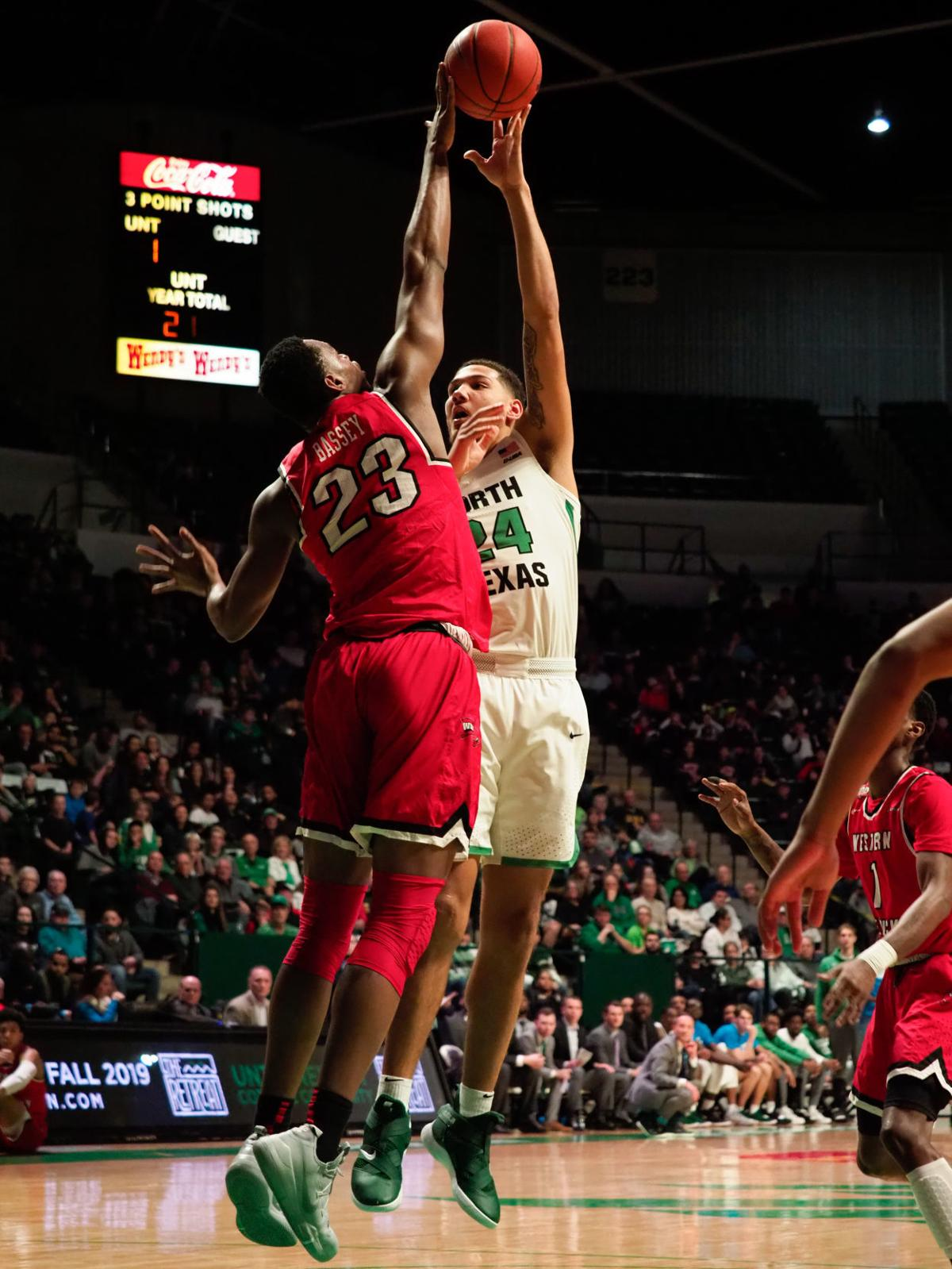 WKU-North Texas (3) 2-9-19