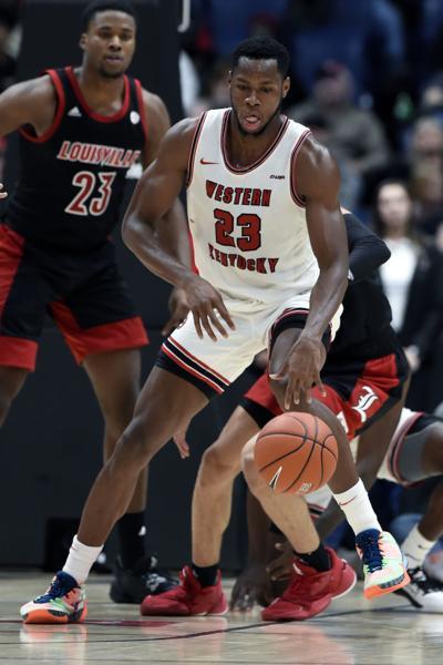 Louisville W Kentucky Basketball