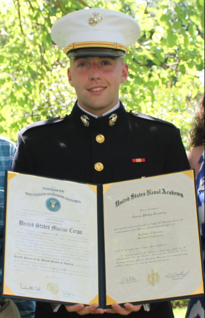 Conway graduates from U.S. Naval Academy