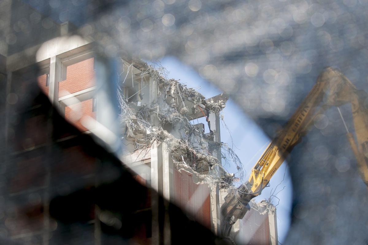 Bemis Lawrence Hall demolition