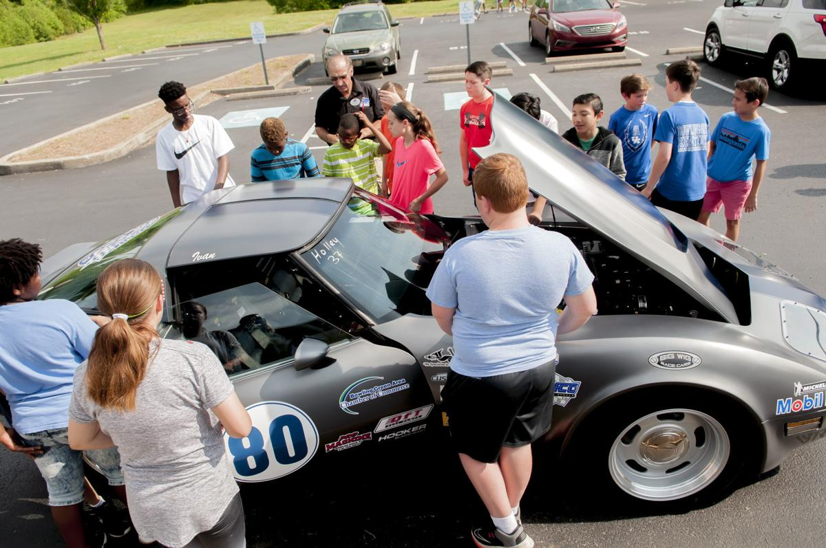 Revved-up cars get students 'on track' for STEM careers