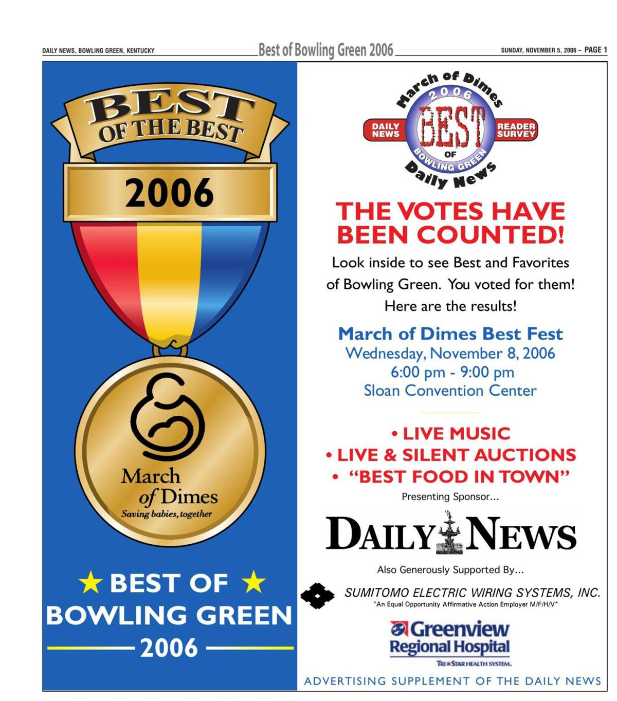 Best of Bowling Green 2006 | Best of Bowling Green