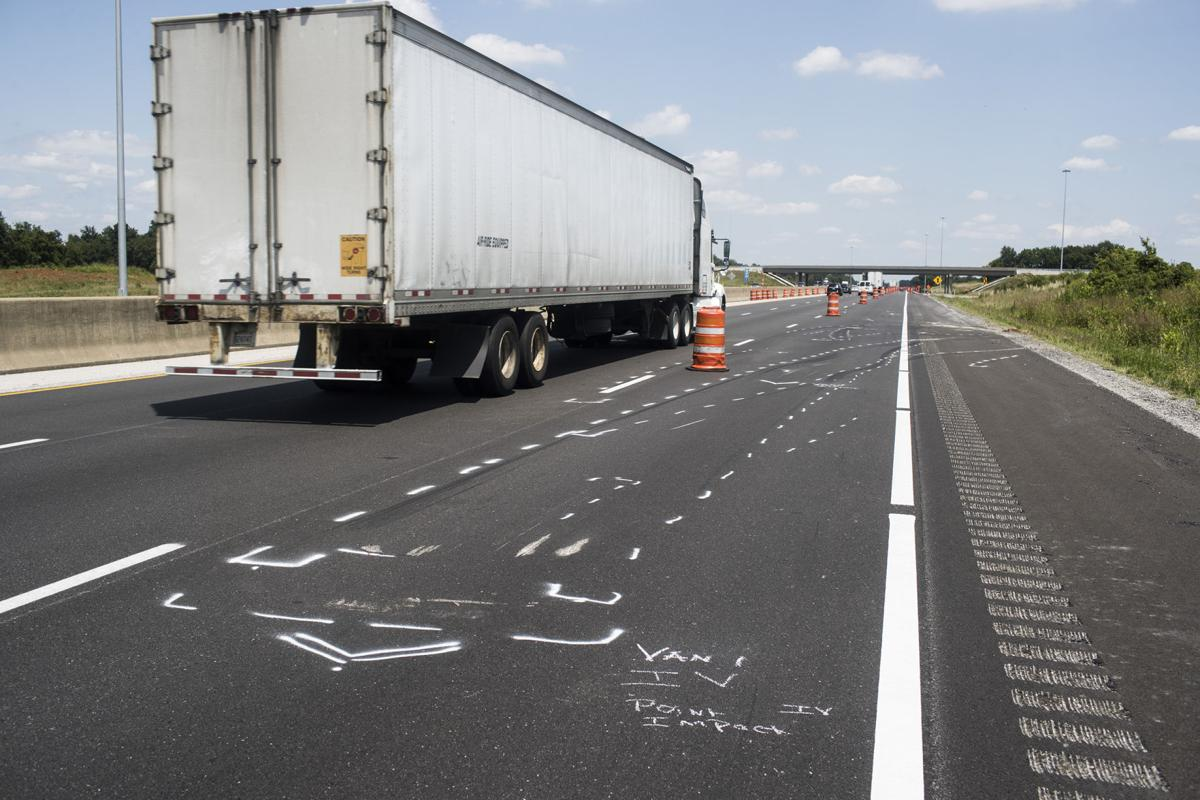 KSP collision reconstructionists return to site of multi