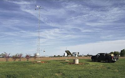 Kentucky Mesonet weather station moves to Ephram White Park