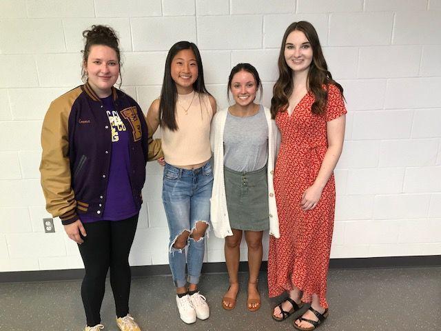 Four local seniors receive P.E.O. STAR scholarships