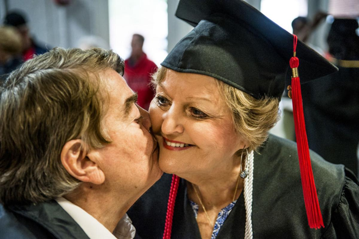 A degree 20 years in the making