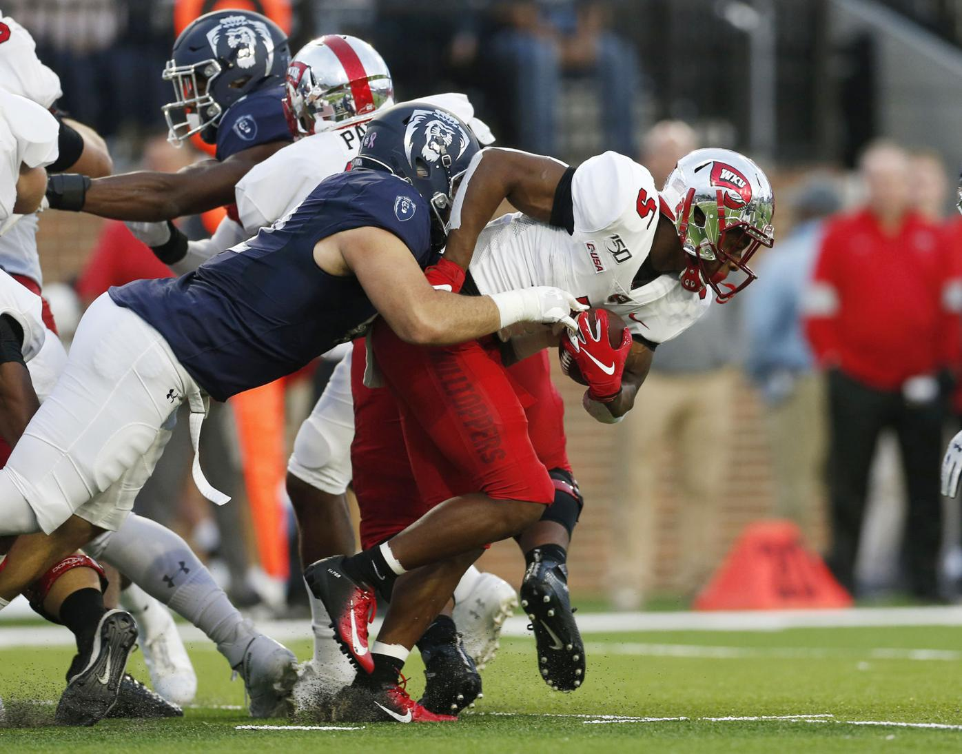 Defense leads charge again for WKU's third conference win ...