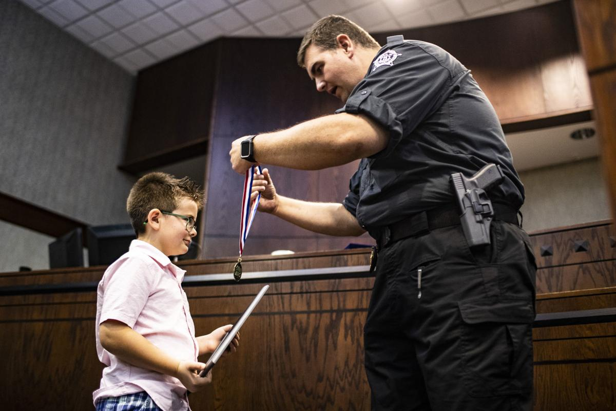 For getting help to his grandfather, 7-year-old hailed as hero by Edmonson sheriff