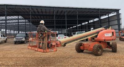 Development extending size of South Industrial Park