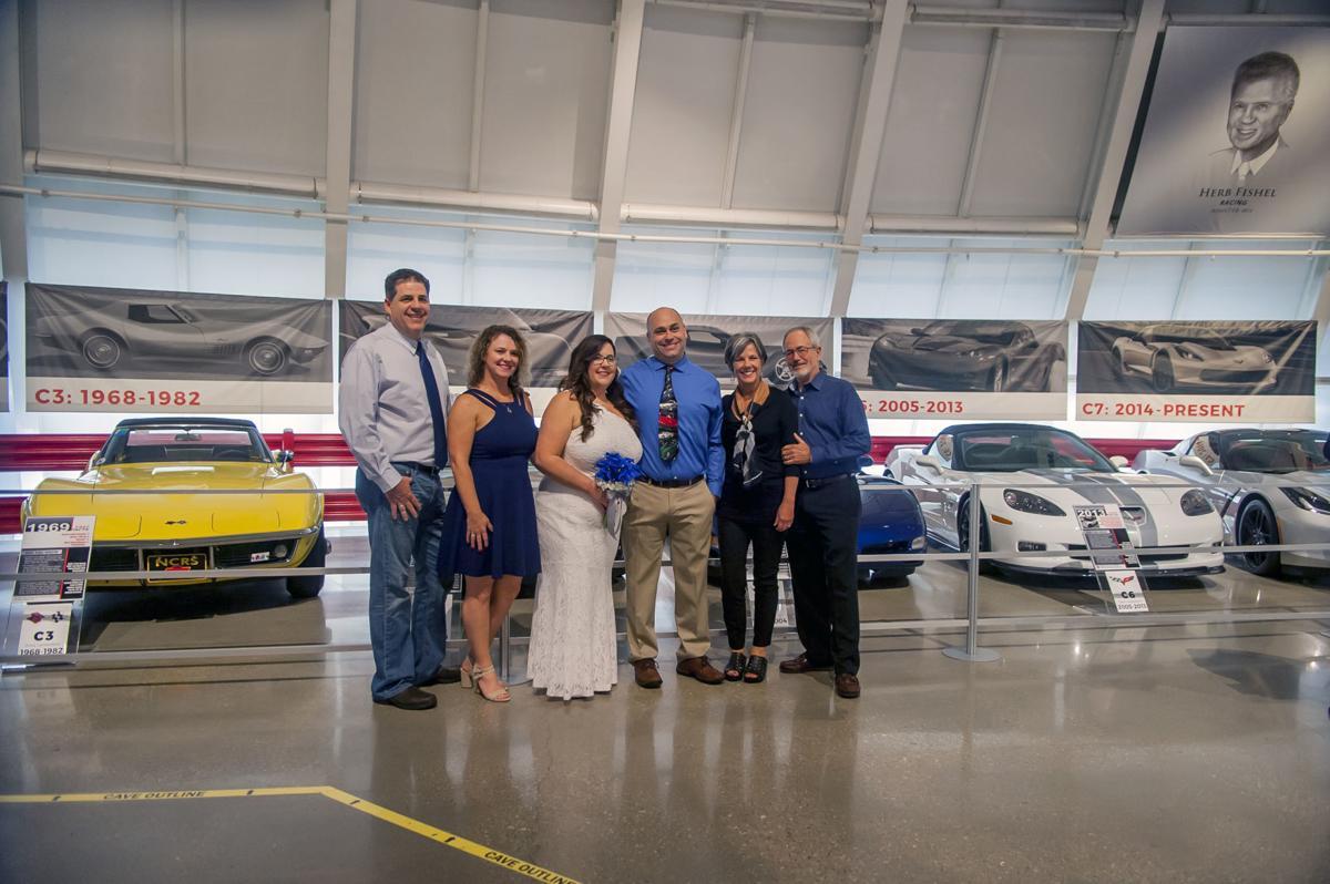 National Corvette Museum wedding
