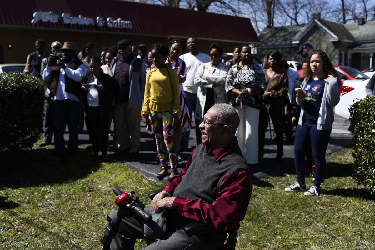 Founder of prominent barbershop honored for role in