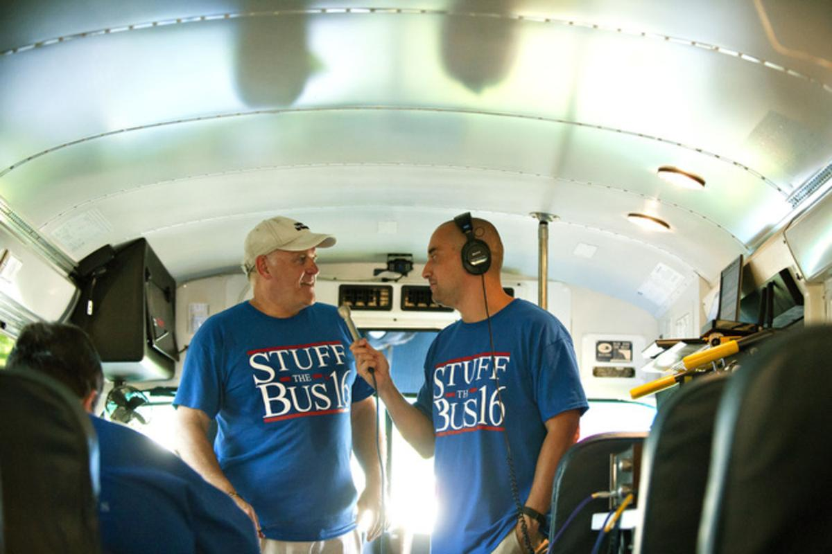 Stuff the Bus kicks off collection of school supplies