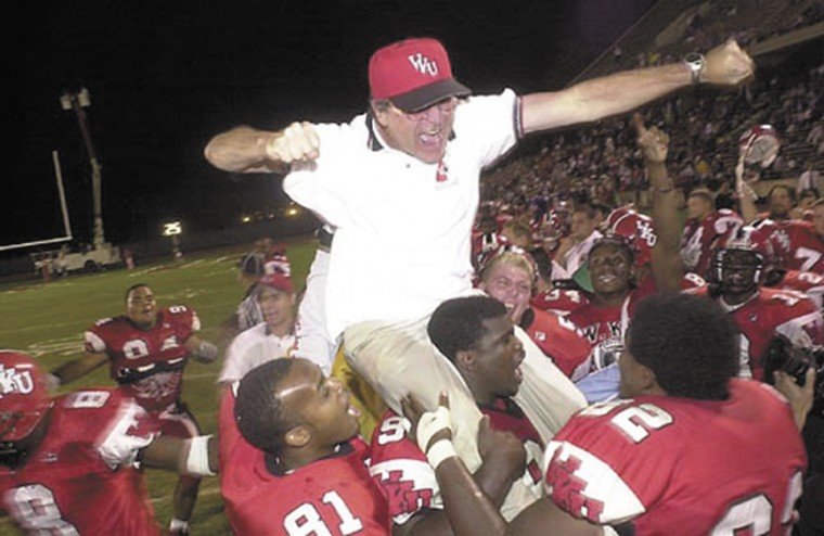 Former coach Harbaugh returns 'home' for visit | WKU ...