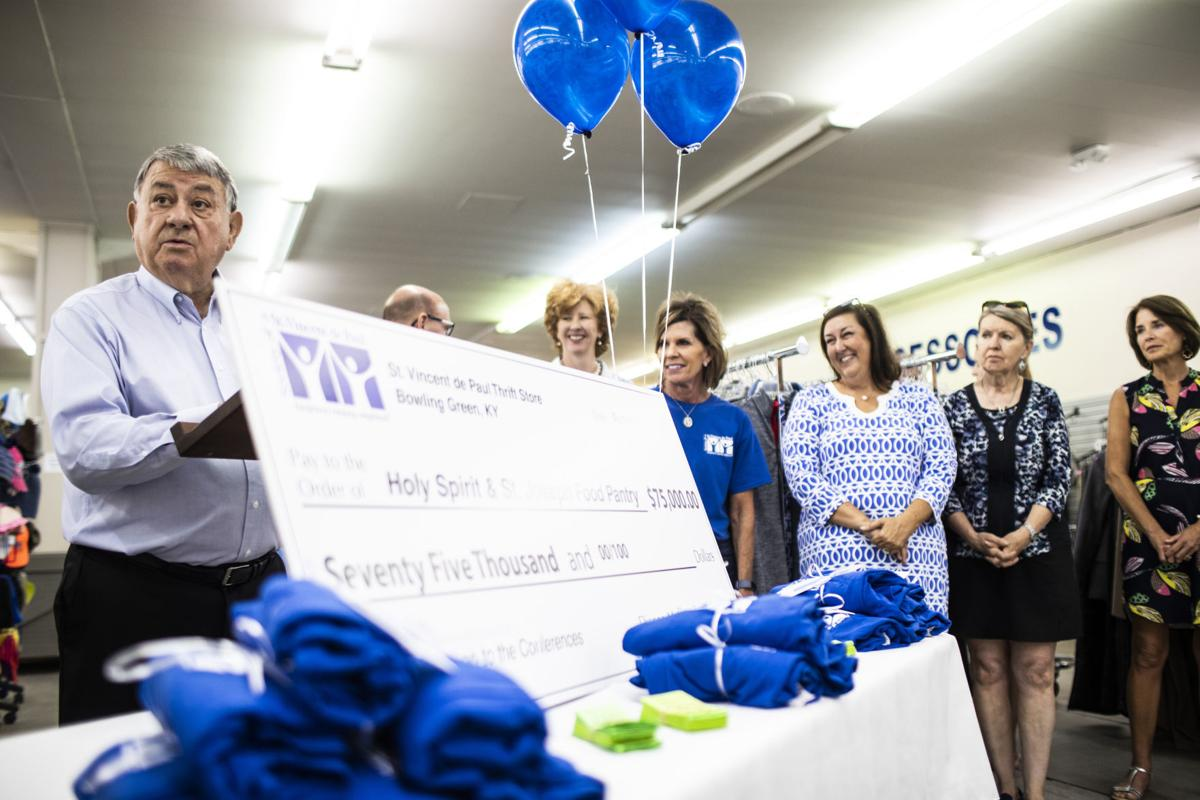 St. Vincent de Paul thrift store one year anniversary