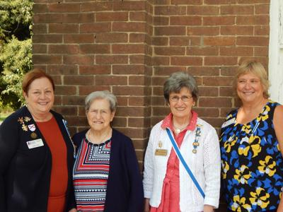 Six new members inducted into Simpson County National Society Daughters of the American Revolution