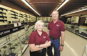 Sherwoods Guns Settles In New Location Community Bgdailynewscom