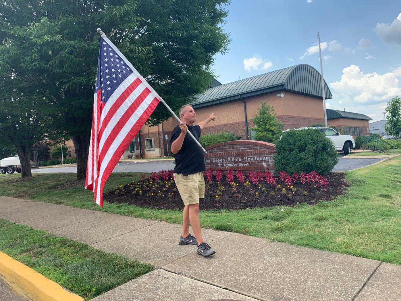 Flag guy