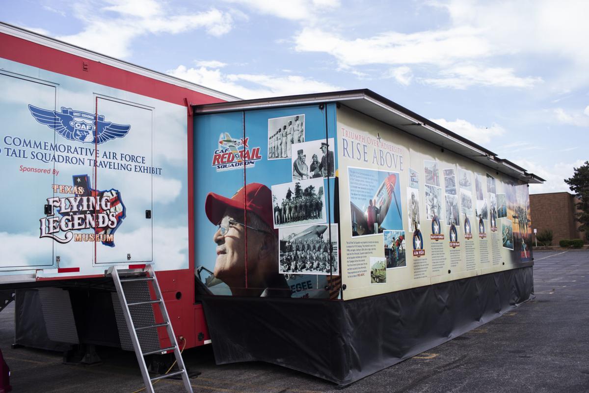 Tuskegee Airmen movie exhibit