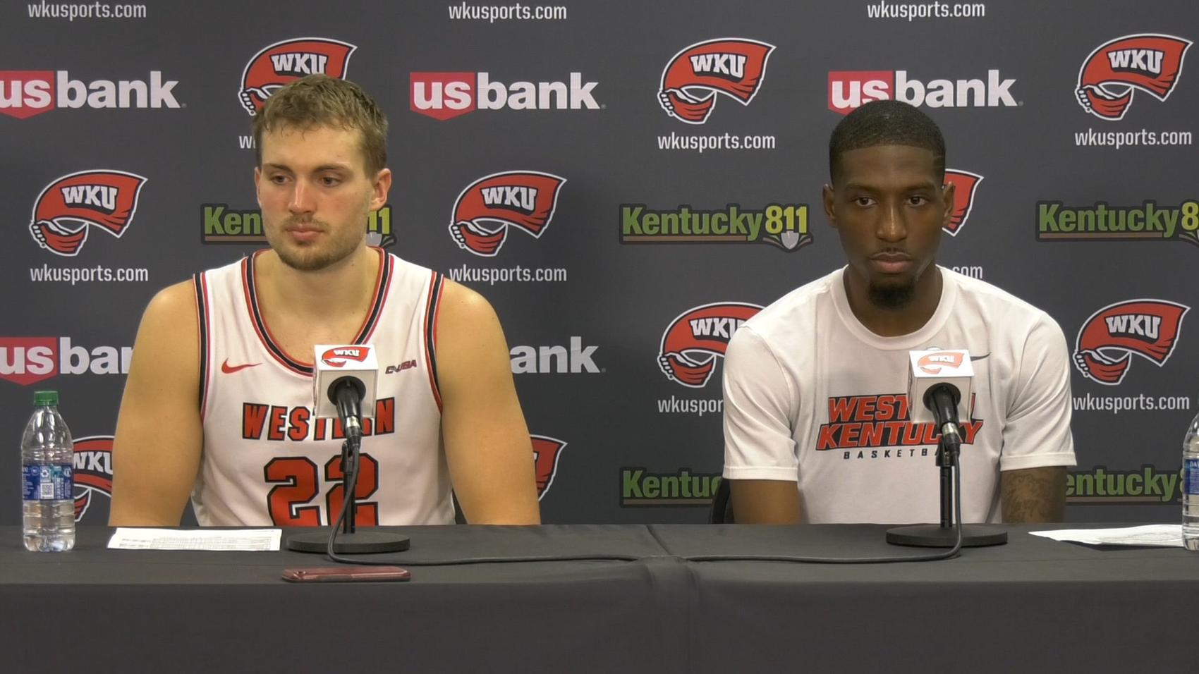 VIDEO: Carson Williams & Taveion Hollingsworth press conference