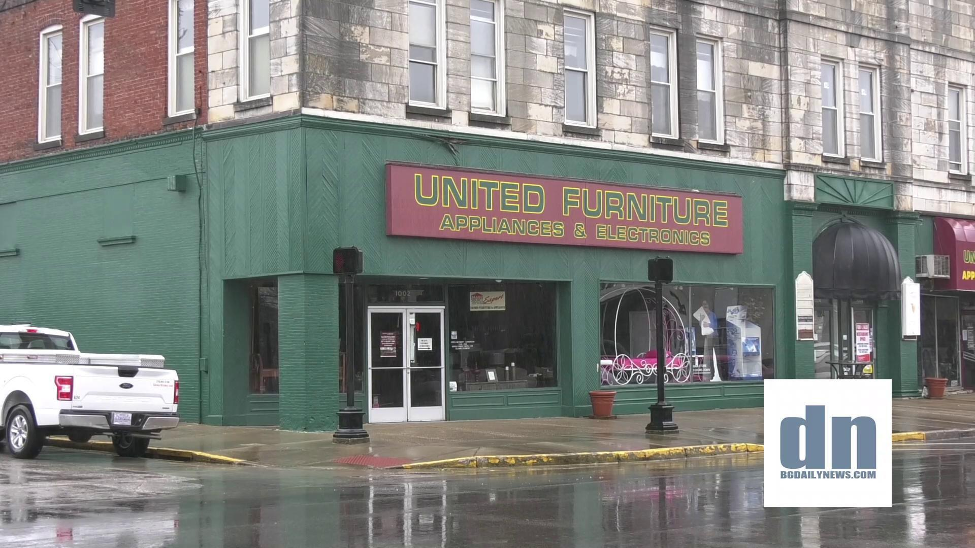 Video United Furniture Appliances Remains Open Despite Wall