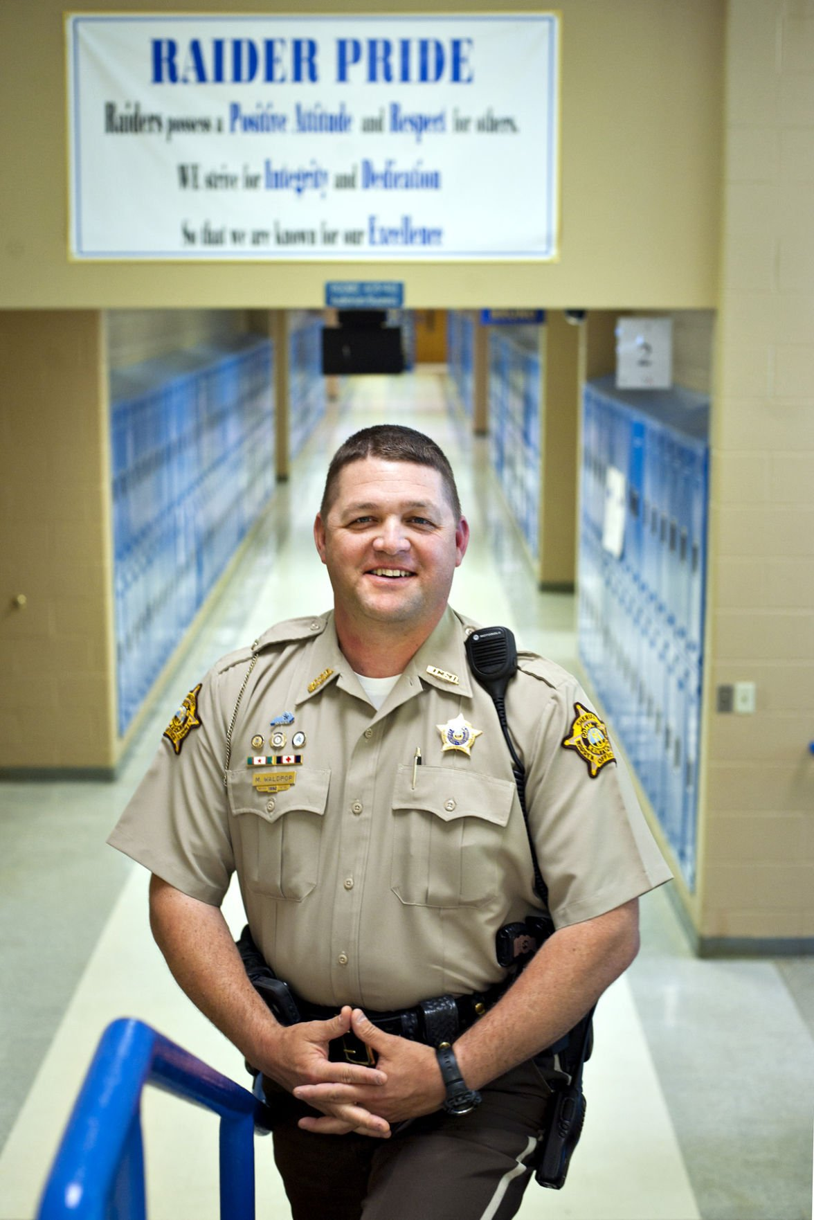 Waldrop named Kentucky School Resource Officer of the Year