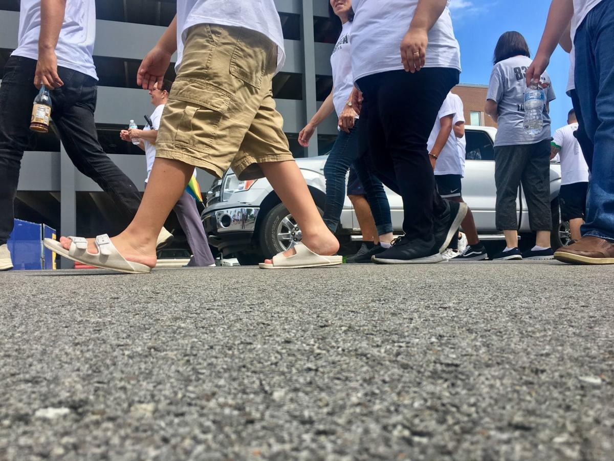 Bosnians remember genocide with fifth annual walk