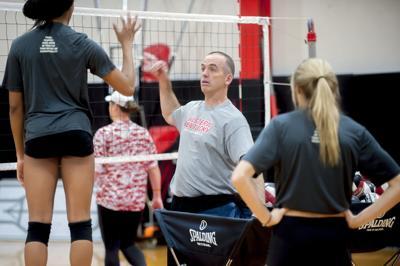 WKU volleyball practice