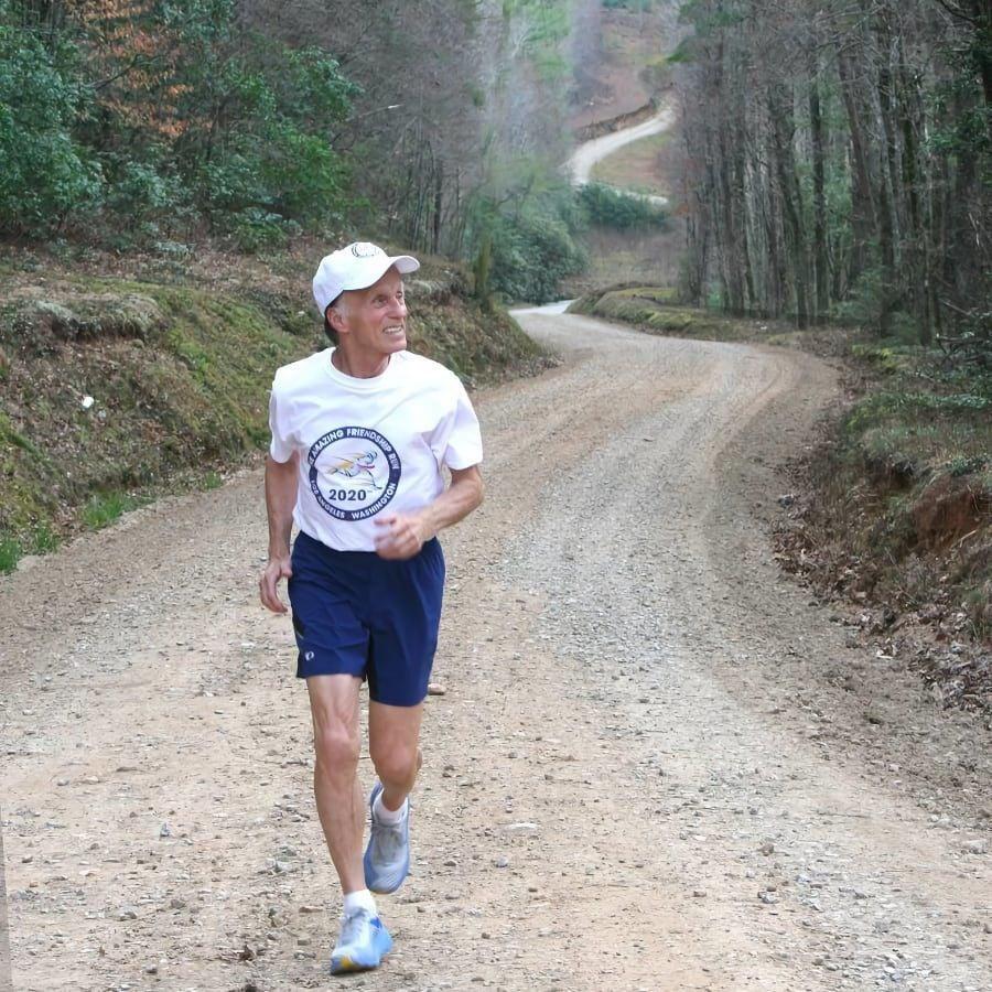 Stan Cottrell running
