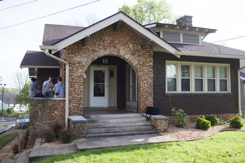 Students open home to feed the community