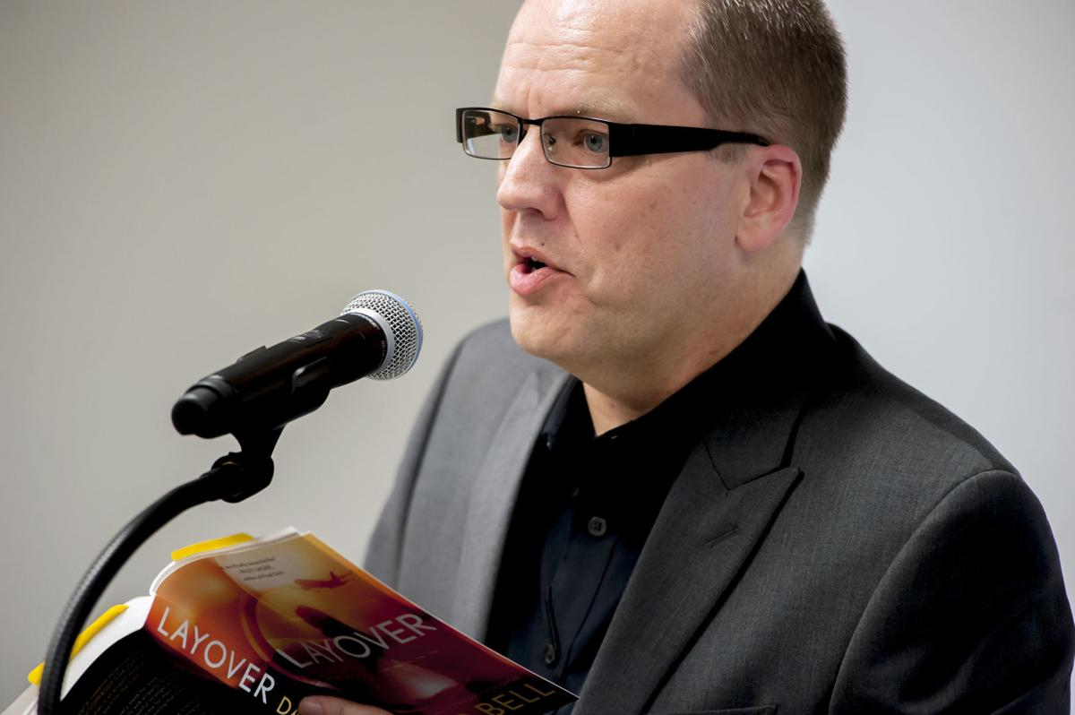 David Bell reads from his new book, 'Layover'