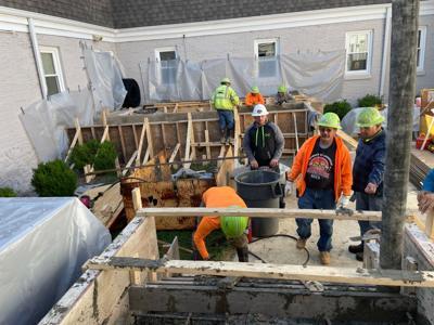 Contractors donate work to help nonprofit center