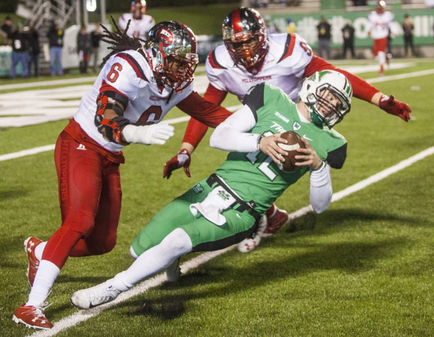 Hilltoppers clinch East with browbeating of Marshall