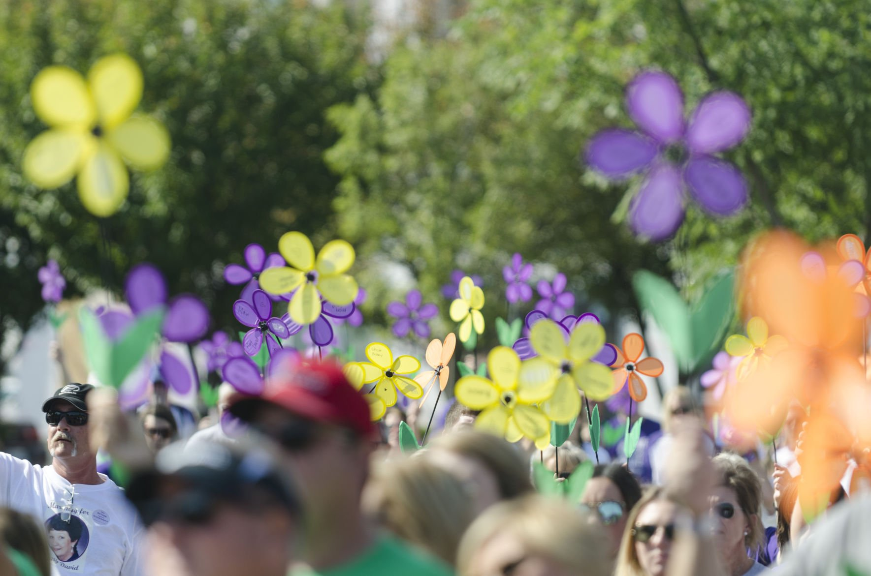 Hundreds come out for the Walk to End Alzheimer's