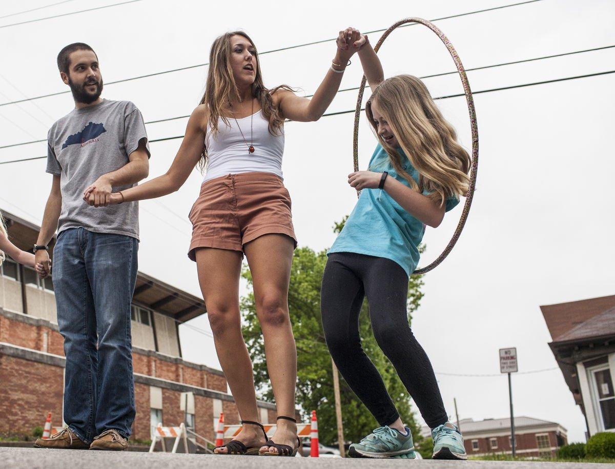 Hula hoop record attempt