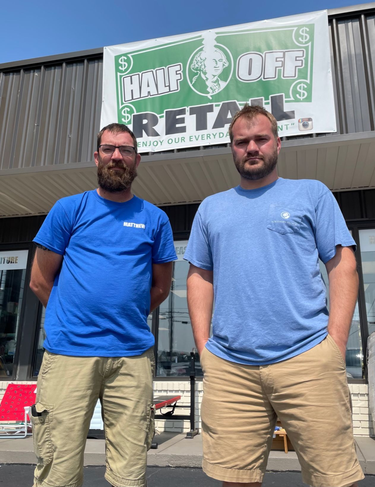 Half Off Retail opens on 31-W Bypass