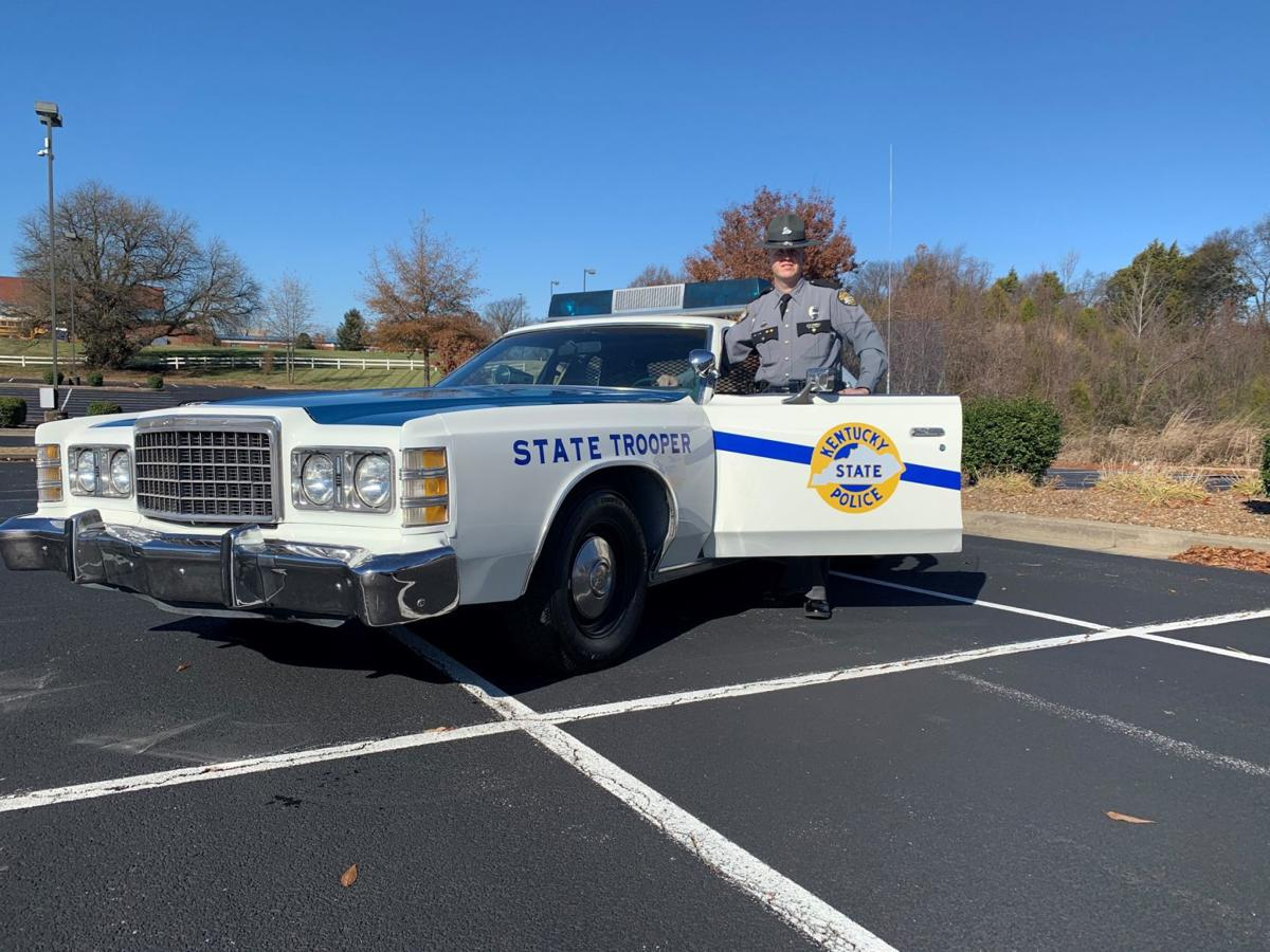 SKYCTC auto mechanic students give new life to vintage Kentucky State Police cruiser